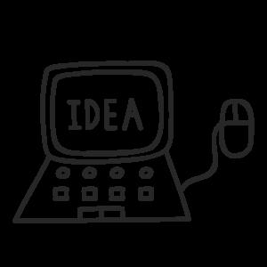 Icon für das blueforte Leistungspotfolio: Data Innovation Lab. Prototyping, MVP, Proof of Concept.